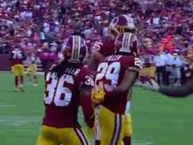 The Redskins DB's