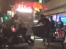 We Had A MASSIVE Halal Cart Brawl In Brooklyn Last Night