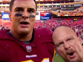 Ryan Kerrigan Unleashes His Inner Stone Cold Steve Austin And Gets The Austin 3:16 Stamp Of Approval