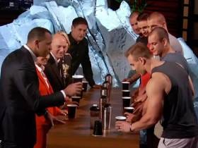 The Gronkowskis Played A-Rod And The Rest Of The Sharks In A Game Of Flip Cup On Shark Tank. Guess How It Went?