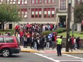 An Entire School Of Students Staged A Walkout To Protest A Teacher Saying