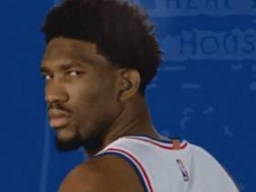 Joel Embiid Instinctively Says To The Media His Minute Restriction Is 'Fucking Bullshit'