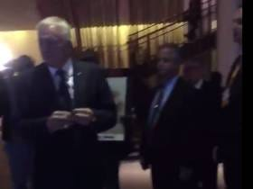 Jerry Jones Looks Insanely Uncomfortable When Confronted By A Protester In A Hotel Lobby