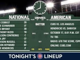 Cubs Road To Repeat - NLCS Game 3 Live Blog LIVE