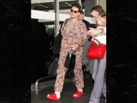 John Mayer Celebrated His 40th Birthday By Rocking Flower Pajamas And $600 Sandals