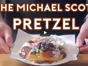 This Chef Made Michael Scott's Pretzel From Pretzel Day And It's Amazing