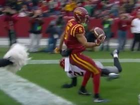 Iowa State's Allen Lazard Pulls Off An Insane Circus Catch For A Touchdown