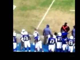 Tennessee State Football Player Kicked Off The Team And Expelled For Punching His Coach In The Face On The Sidelines