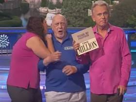 Old Man Almost Goes Down After Seeing He Lost The Million Dollar Prize On Wheel Of Fortune