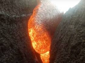 You Wanna See A GoPro Get Melted By Molten Hot Lava? Yeah You Do
