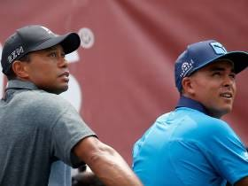 Rickie Fowler Says Tiger Woods Is Hitting It Way Past Him In Practice Rounds