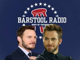 Barstool Radio Happy Hour 11/16/17 - Carrabis Goes On Vacation, Chris Pratt v Chris Pine