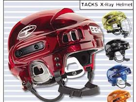 Throwing It Back To The CCM X-Ray Helmet