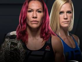 UFC 219 Finally (Probably) Has A Main Event: Cris Cyborg vs Holly Holm For The Featherweight Championship