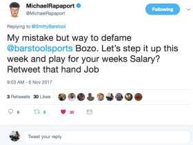 Michael Rapaport Is A Fraudulent Sack Of Shit (When It Comes To Fantasy Football)