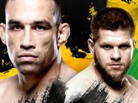 Tomorrow Night, Noted Boomerang Thrower Fabricio Werdum Will Throw His Fists In A Heavyweight Main Event