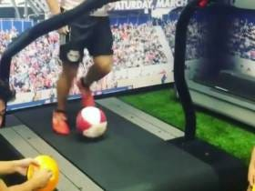 This Soccer Dude Dribbling On A Treadmill Is Some Of The Most Impressive Shit I've Seen