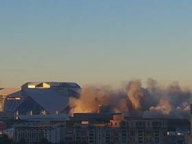 The Georgia Dome Implosion Video We've Been Waiting 24 Hours for Has Arrived