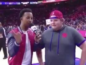 The Kid Whose Miracle Half Court Shot Won Free Chick-Fil-A For The Entire Sixers Crowd Has Got One Hell Of A Story