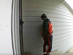 How Bout This Delivery Guy Pissing All Over My Friend's Doorstep?