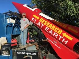 This Hero Is Gonna Launch Himself In A Homemade Rocket To Prove The Earth Is Flat