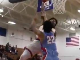 High School Basketball Player Puts Entire Opposing Team On Various Posters
