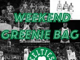 The Weekend Greenie Bag - A James Young Comeback?