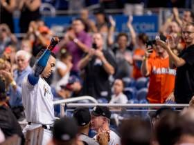 Wake Up With All 59 Of Giancarlo Stanton's Home Runs From 2017
