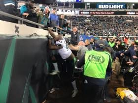 Jaguars Win An INSANE Game Against Seattle And A Seahawks Player Tries Going In The Stands To Fight Fans