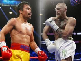 Manny Pacquiao Claims Discussions Have Started For Him To Face Conor McGregor In 2018