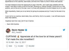 Devin Hester Officially Retires, Should Be In The Hall Of Fame