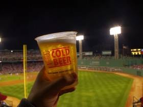 The Day After The Yankees Unveiled Giancarlo Stanton, The Red Sox Announced A New Beer Sponsorship!