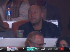 Derek Jeter Skips The Winter Meetings On The Day Giancarlo Stanton Is Introduced By The Yankees, Goes To Patriots-Dolphins Game In Miami Instead