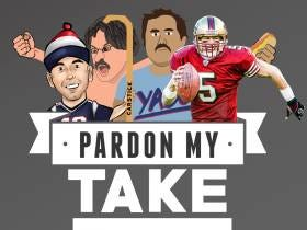 Pardon My Take 12-13 Former NFL QB Jeff Garcia And Shawn Booth (Winner Of The Bachelorette) For Guys On Chicks