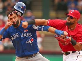 Throwing It Back To Jose Bautista Vs. Rougned Odor (2016)