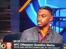 Bizarro World: RG3 Was On ESPN Talking About Kirk Cousins' Future In Washington