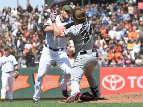 Wake Up With Bryce Harper Fighting Hunter Strickland (2017)