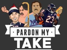 Pardon My Take 12-15 With Devin Hester + All Business Pete Roasts Us