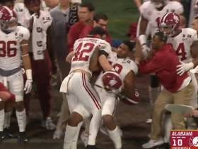 The Alabama Dude Who Went Bonkers On The Sideline During The Championship Game