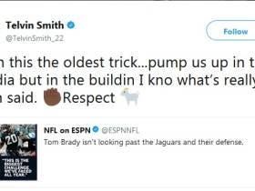 Telvin Smith Takes Tom Brady's Respect as a Sign of Disrespect