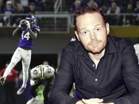 Bill Burr's Live Reaction To Stefon Diggs' Miracle Catch Is Nothing Short Of Perfect
