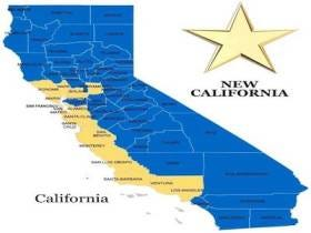 A Group Of Californian Cities Want To Break Away From California And Form A New State Called New California