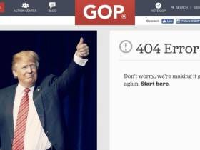 Trump Announces The Fake News Awards... And The Website Crashes Immediately After He Tweets It Out