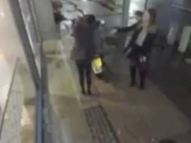 A Couple of Drunk College Chicks Thought It Would Be Funny To Rob A Delivery Man On Camera, It Was not