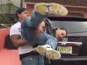 MUST WATCH: This WWE Real Life Street Fight With an Ice Cream Truck Blaring in the Background is Nothing Short of Unbelievable