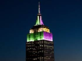 Known Front-Runner The Empire State Building Will Be Donning Eagles And Patriots Colors On Sunday Night