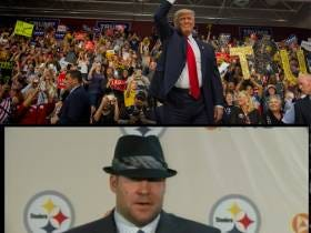 Who Says Chivalry's Dead? Trump Made Sure Porn Star Mistress Got Home Safe By Getting 2006 Ben Roethlisberger To Walk Her To Her Room Alone