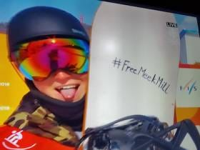 Even Slovenian Snowboarders Are Getting Behind The #FreeMeekMill Movement
