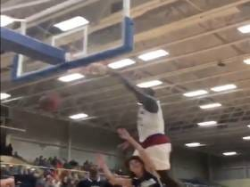 Zion Williamson Dunked Through Some Poor Kid's Soul And Blocked Another Kid's Shot Into A Different Dimension
