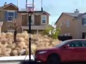Southern California Town Gets Absolutely Overran By A Hilarious Amount Of Tumbleweeds: That's Right. Tumbleweeds